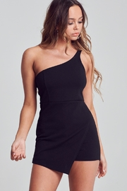Unknown Factory One Shoulder Romper - Product Mini Image