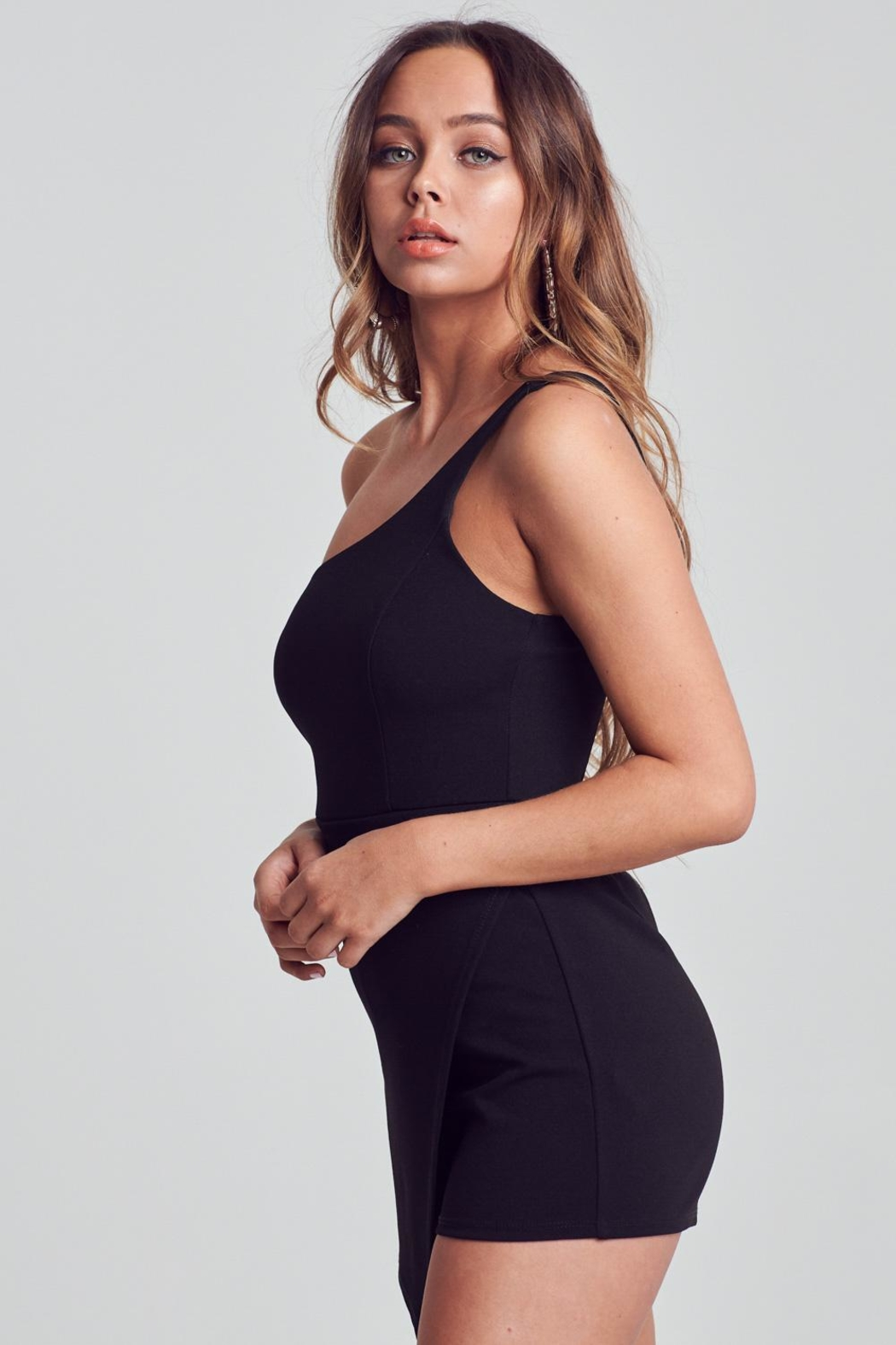 2eac10b93 Unknown Factory One Shoulder Romper from Raleigh by Athleisure ...