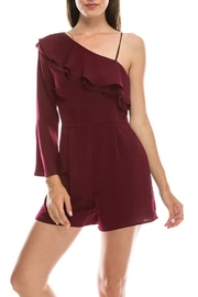 HYFVE One Shoulder Romper - Product Mini Image