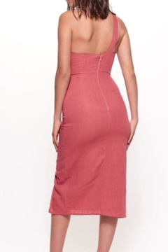Selfie Leslie One-Shoulder Rose Dress - Alternate List Image