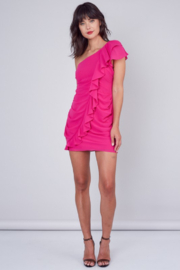 Do + Be  One Shoulder Ruffle Dress - Other