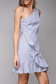 Do & Be One-Shoulder Ruffle Dress - Back cropped