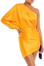 luxxel One-Shoulder Satin Dress - Product Mini Image