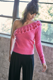 Do + Be  One Shoulder Sweater - Product Mini Image