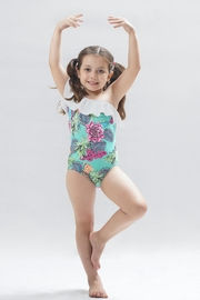 PPoT Kids One Shoulder Swimsuit - Front cropped