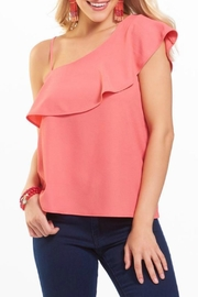 Charlie Paige One Shoulder Tank - Front cropped