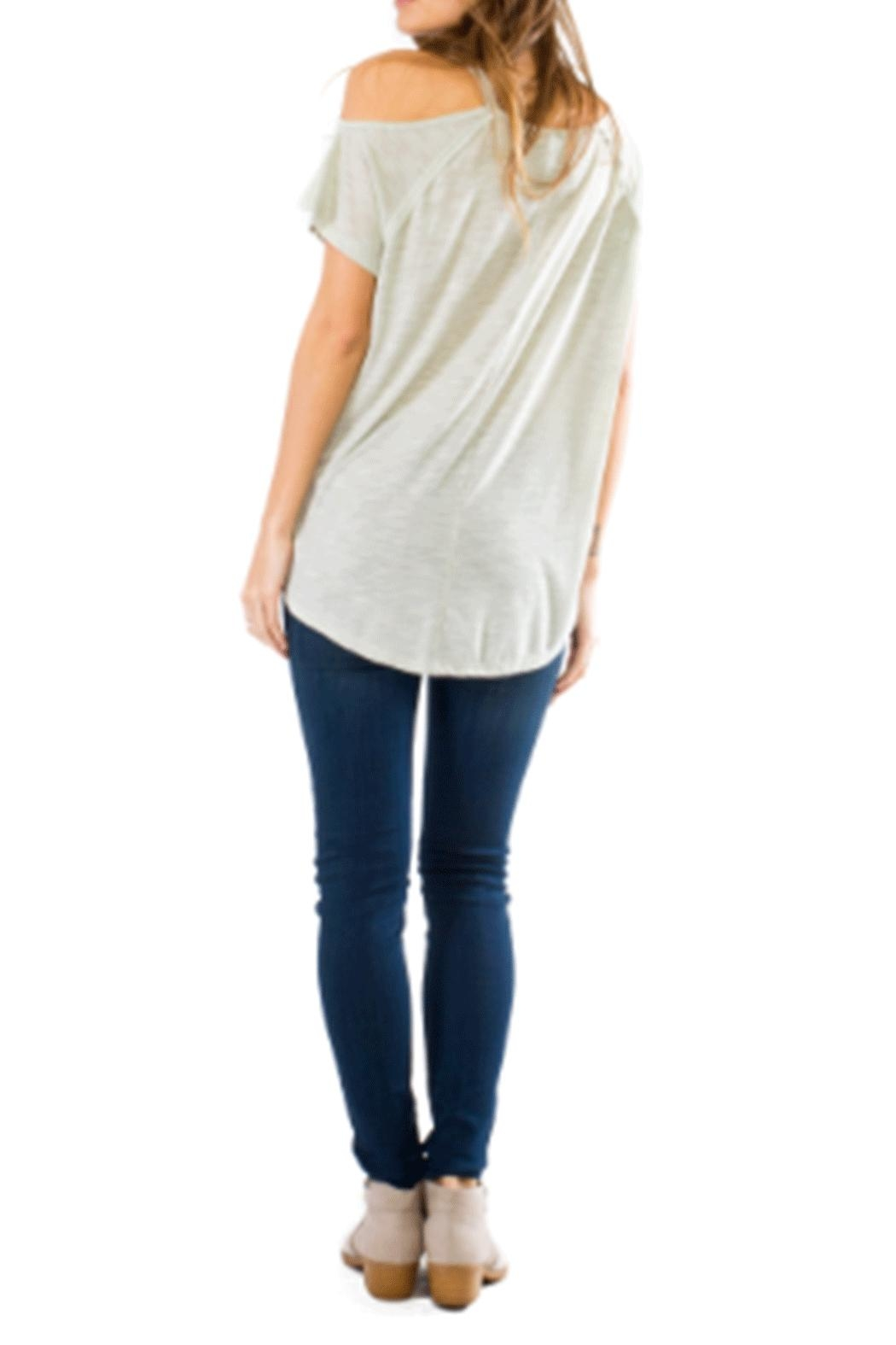 Anama One Shoulder Tee - Front Full Image