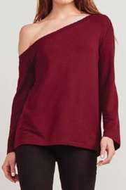 BB Dakota One Shoulder Tee - Front cropped