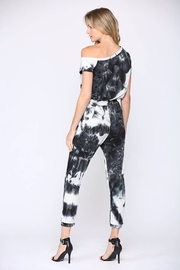 Fate  One-Shoulder Tie-Dye Jumpsuit - Side cropped
