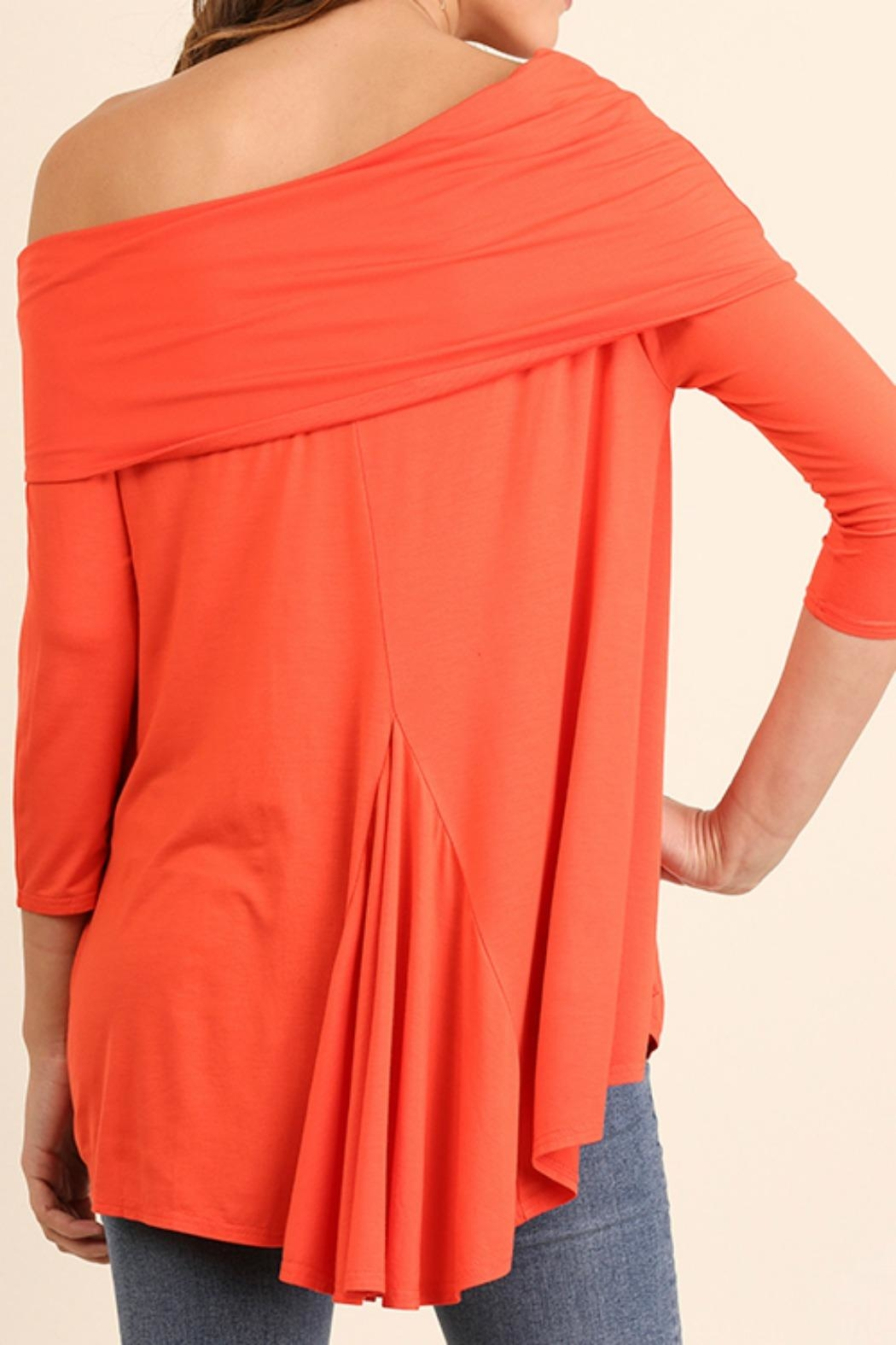Umgee USA One Shoulder Top - Front Full Image