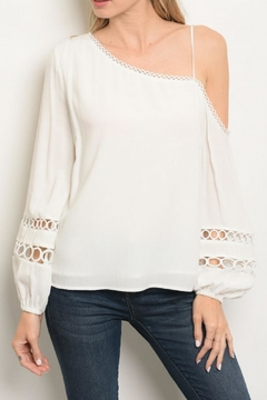 Shoptiques Product: One-Shoulder Top
