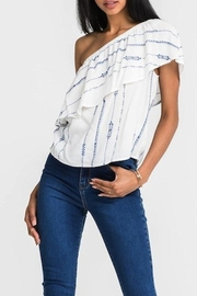 Lush One Shoulder Top - Product Mini Image