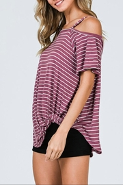 CY Fashion One Shoulder Top - Side cropped