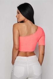 Hot & Delicious One Shoulder Top - Side cropped
