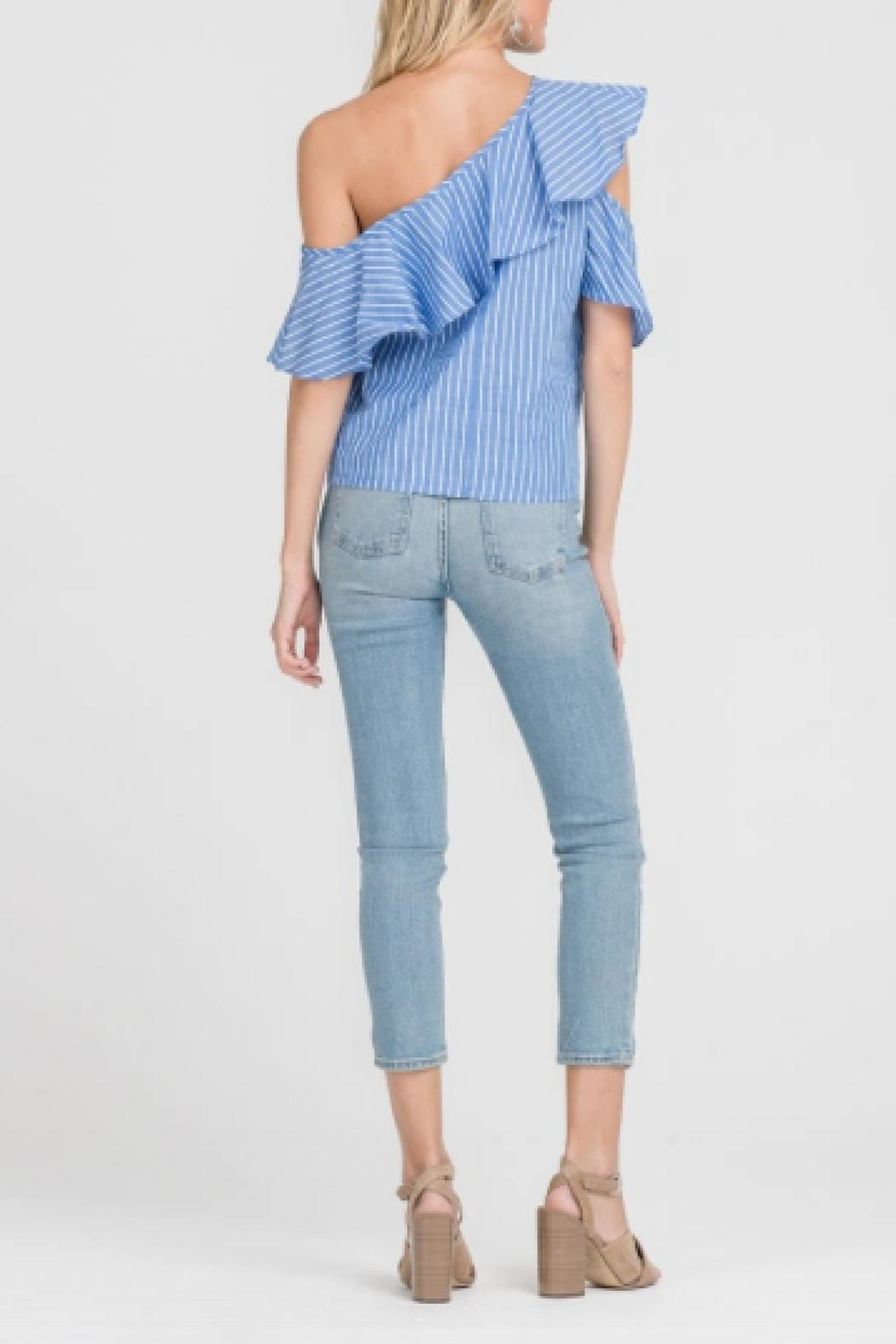 Lush One Shoulder Top - Side Cropped Image