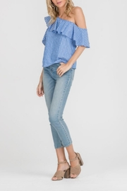 Lush One Shoulder Top - Front full body
