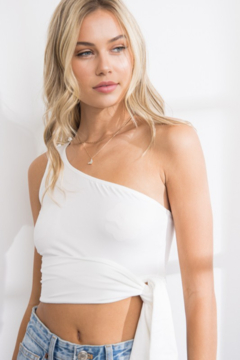 Papermoon One Shoulder Top - Alternate List Image