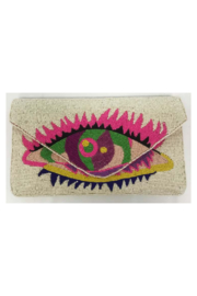 Ricki Designs One Sided Beaded Multi Color Clutch - Product Mini Image