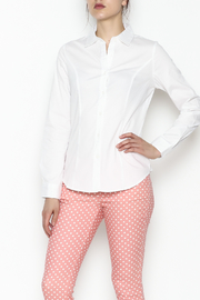 One Story Classic White Shirt - Front cropped
