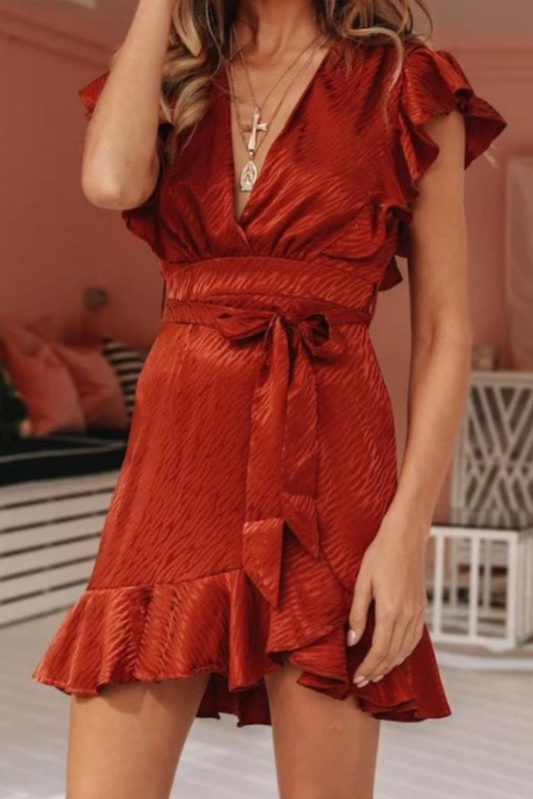 one & only Constance Wrap Dress - Main Image