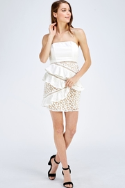 one & only Lace Tube Dress - Front full body