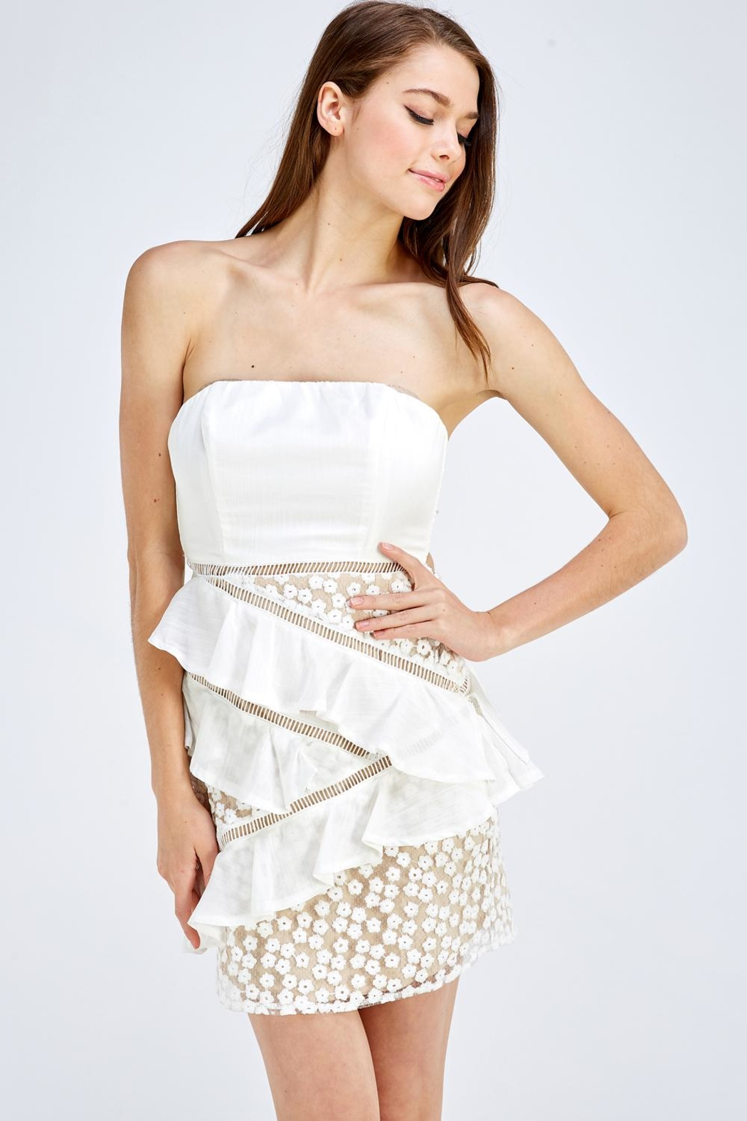 one & only Lace Tube Dress - Main Image