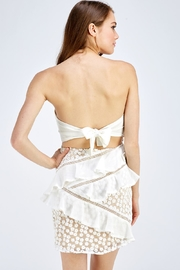 one & only Lace Tube Dress - Back cropped