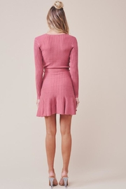 one & only Surplice Mini Dress - Side cropped