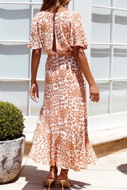 ONE AND ONLY COLLECTIVE Leopard-Print Maxi Dress - Side cropped