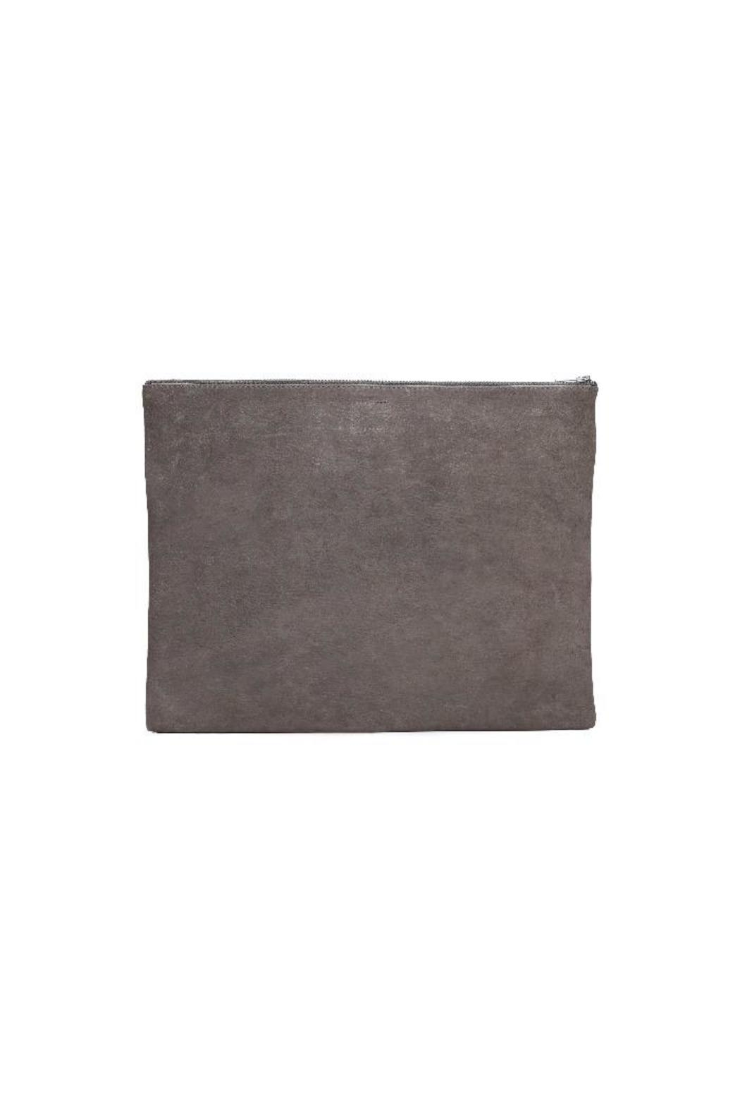 One Fated Knight Grey Oversized Pouch - Front Full Image