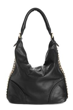 One Fated Knight Leather Studded Bag - Product List Image