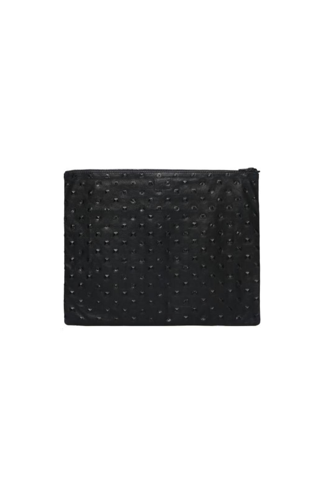 One Fated Knight Studded Oversized Pouch - Front Full Image