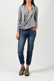 One Grey Day Bryan Sweater - Front full body