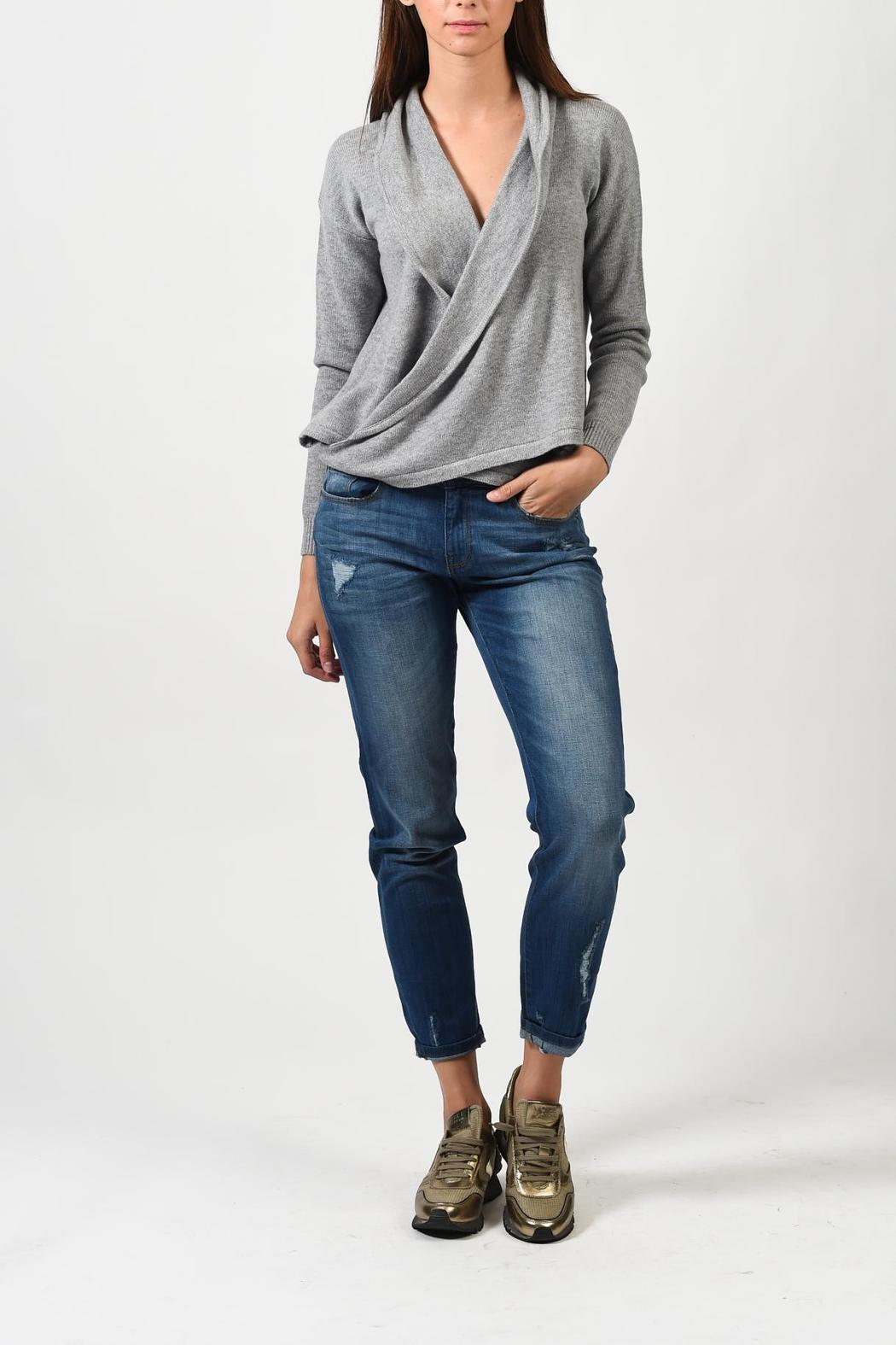 One Grey Day Bryan Sweater - Front Cropped Image