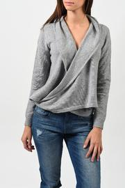 One Grey Day Bryan Sweater - Back cropped