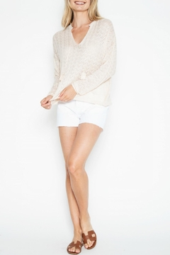 One Grey Day Kass L/s Top - Product List Image