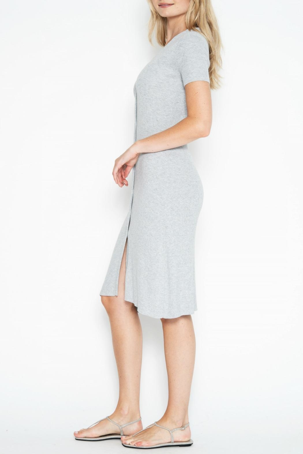 One Grey Day Quentin Dress - Front Full Image