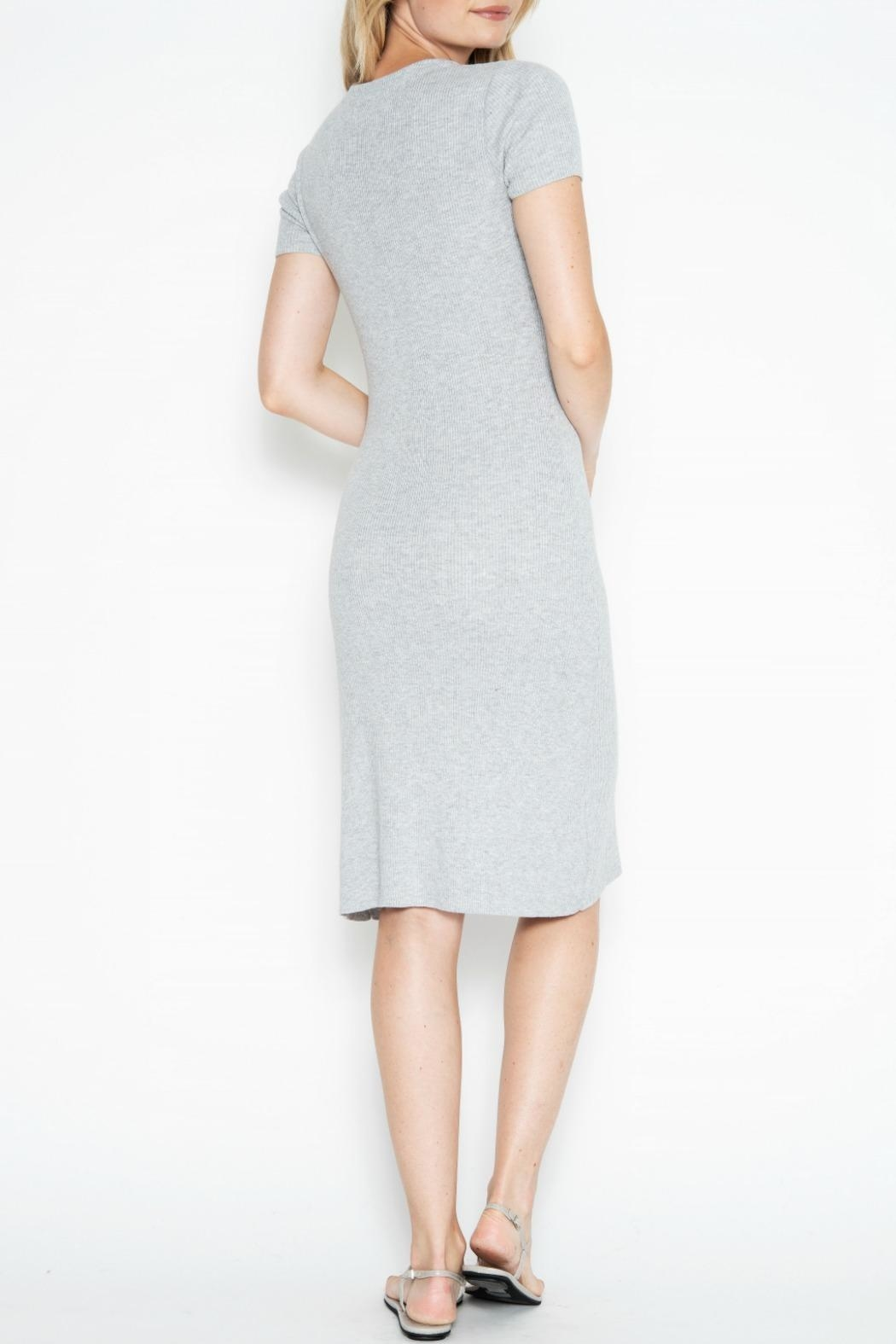 One Grey Day Quentin Dress - Side Cropped Image