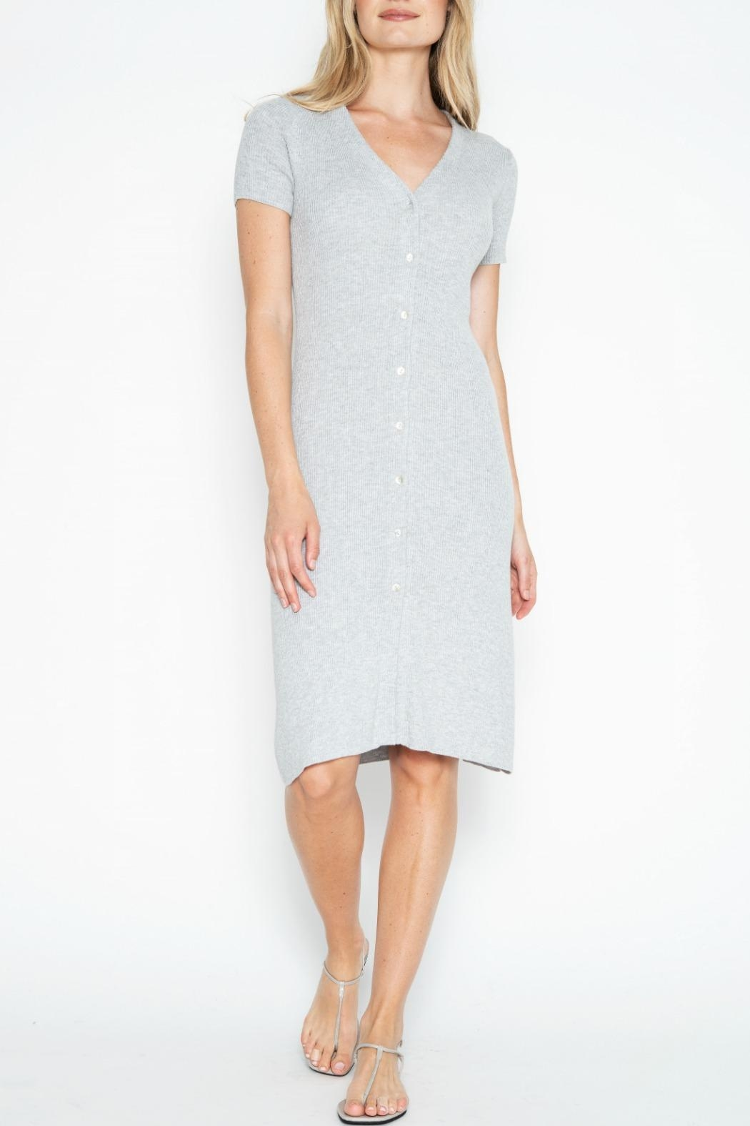 One Grey Day Quentin Dress - Main Image
