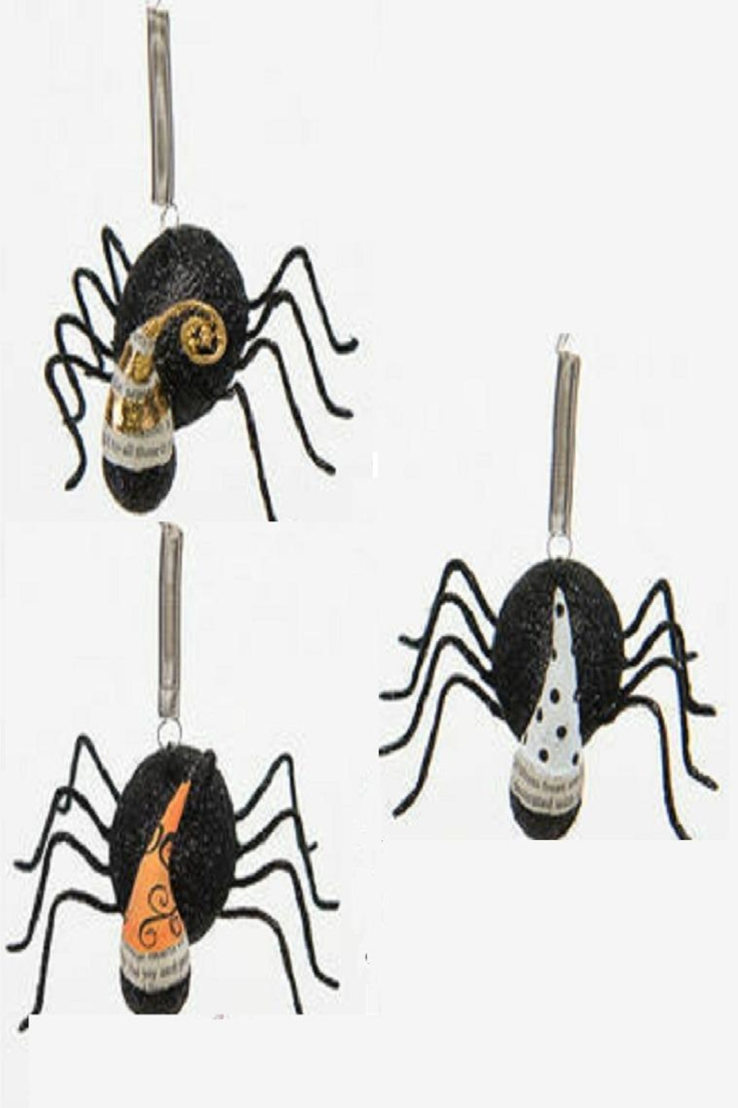 One Hundred 80 Degrees Bungee Spiders With Hats - Main Image
