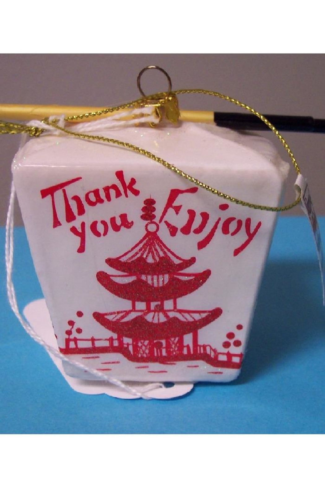 One Hundred 80 Degrees Chinese Takeout Ornament - Front Full Image