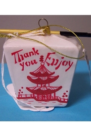 One Hundred 80 Degrees Chinese Takeout Ornament - Front full body