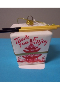 One Hundred 80 Degrees Chinese Takeout Ornament - Product List Image