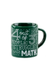 One Hundred 80 Degrees Math Struggle Mug - Product Mini Image