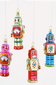 Shoptiques Product: Mini Robot Ornaments