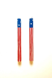 One Hundred 80 Degrees Patriotic Taper Candles - Product Mini Image