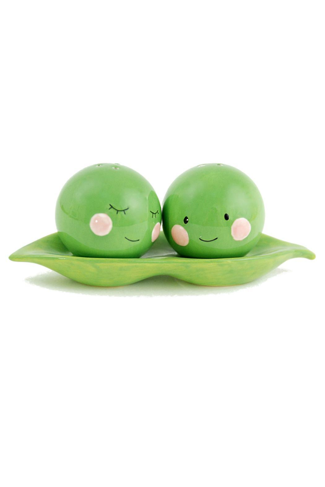 One Hundred 80 Degrees Peas Salt And Pepper Shakers - Main Image
