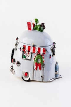 Shoptiques Product: Travel Trailer Cookie Jar