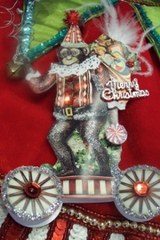 One Hundred 80 Degrees Vintage Circus Themed Ornaments - Front cropped