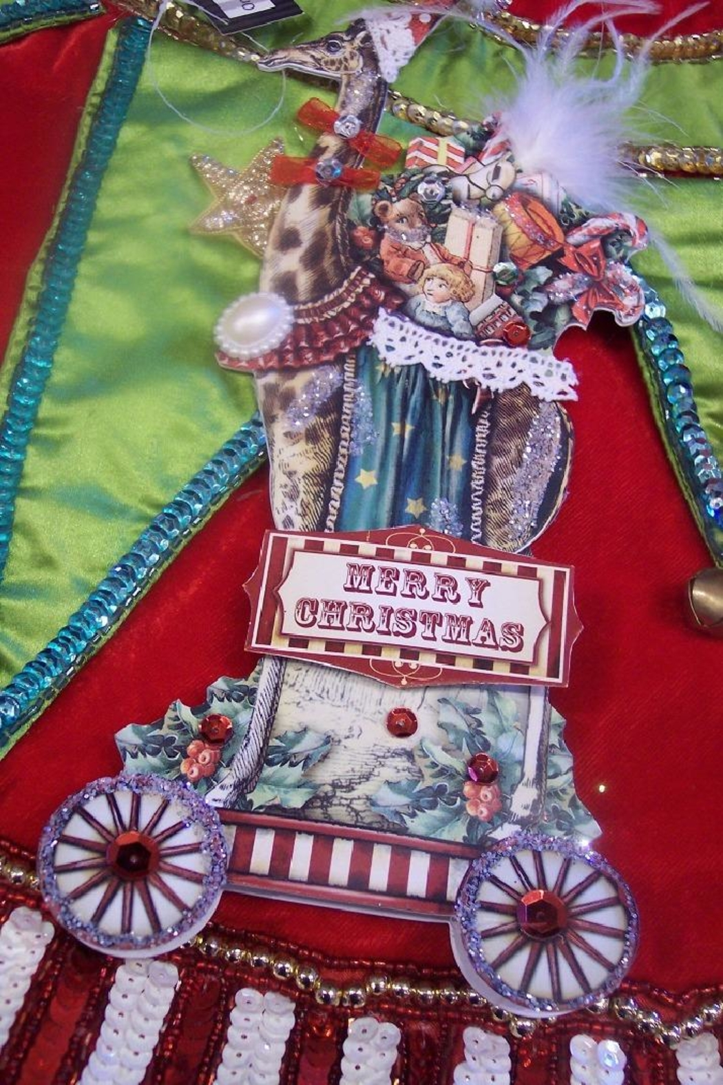 One Hundred 80 Degrees Vintage Circus Themed Ornaments - Front Cropped Image